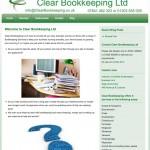 Clear Bookkeeping Website